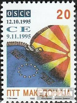 Macedonia 61 mint never hinged mnh 1995 OSZE