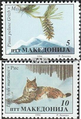Macedonia 36-37 mint never hinged mnh 1994 Conservation