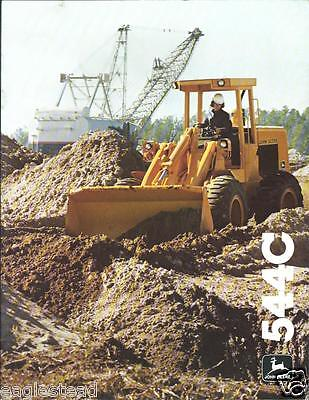 Equipment Brochure - John Deere - 544C - Wheel Loader - c1981 (E2373)