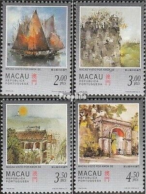 Macao 899-902 mint never hinged mnh 1997 Views of Macao