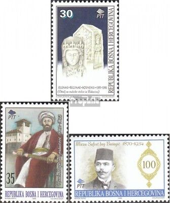 Bosnia-Herzegovina 40-42 mint never hinged mnh 1995 Significant Personalities