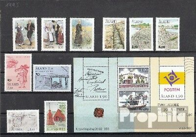Finland-Aland 1993 mint never hinged mnh Complete Volume in clean Conservation