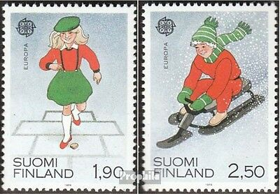 Finland 1082-1083 mint never hinged mnh 1989 Europe: Kids Games