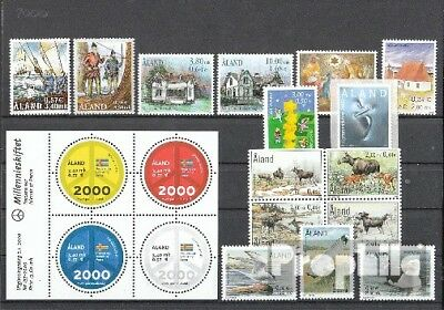 Finland-Aland 2000 mint never hinged mnh Complete Volume in clean Conservation