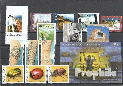 Finland-Aland 2006 mint never hinged mnh Complete Volume in clean Conservation