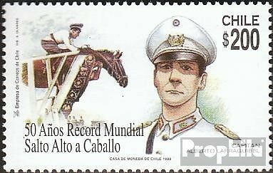 Chile 1883 mint never hinged mnh 1999 Hochsprungrekord in Showjumping