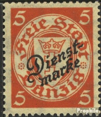 Gdansk D41a tested fine used / cancelled 1924 service mark