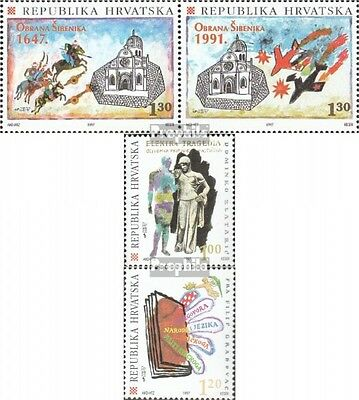 Croatia 428-429 Couple,443-444 fine used / cancelled 1997 special stamps