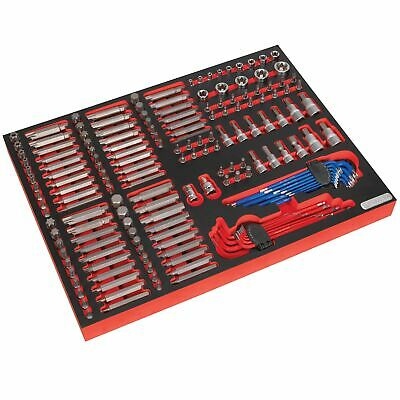 Sealey Premier Tool Chest Tray With Specialised Bits And Sockets 177pc - TBTP07