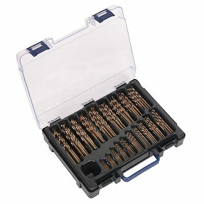 Sealey HSS Cobalt Carbon/Stainless Steel Drill Bit Set 1-10mm 170pc - DBS170CB