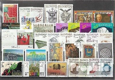 slovenia 1993 mint never hinged mnh Complete Volume in clean Conservation