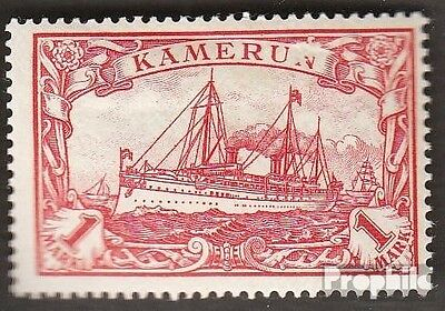 Cameroon (German. Colony) 16 with hinge 1900 Ship Imperial Yacht Hohenzollern