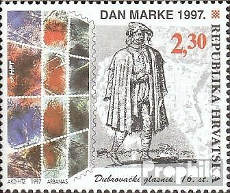 Croatia 423 mint never hinged mnh 1997 Day the Stamp