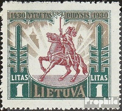 Lithuania 302 mint never hinged mnh 1930 Vytautas the large