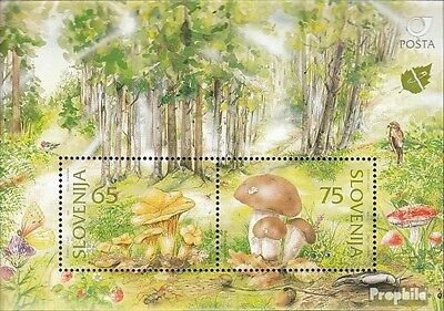 slovenia block3 fine used / cancelled 1996 Locals Plants