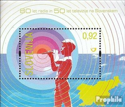 slovenia block39 mint never hinged mnh 2008 Radio and Television