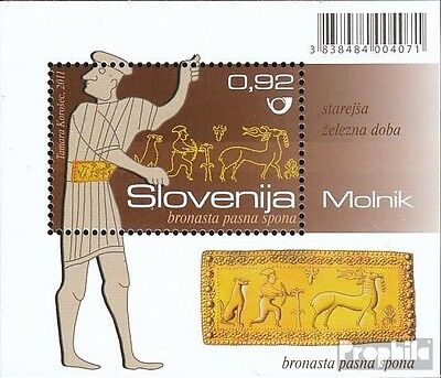 slovenia block58 mint never hinged mnh 2011 Archaeological Finds