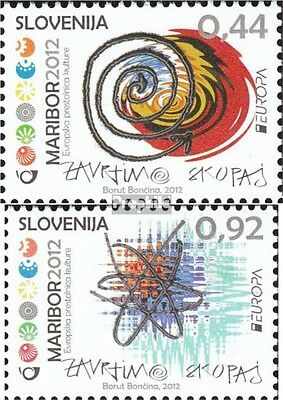 slovenia 952-953 mint never hinged mnh 2012 Maribor - culture Europe