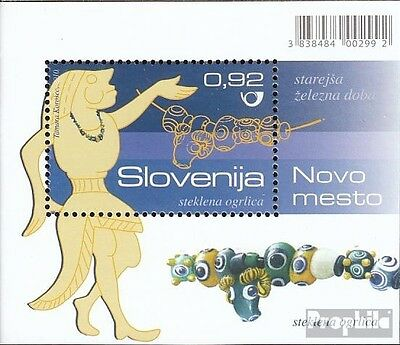 slovenia Block52 mint never hinged mnh 2010 Archaeological Finds