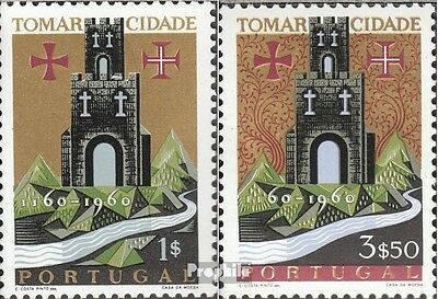 Portugal 910-911 fine used / cancelled 1962 Tomar