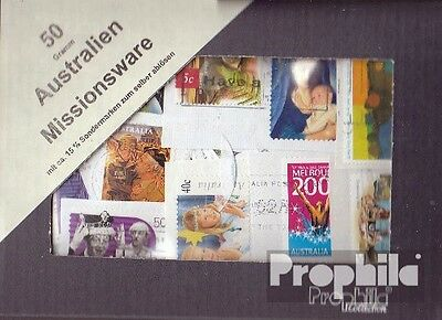 Australia 50 Grams kilo goods fine used / cancelled Mission, 15% special stamps
