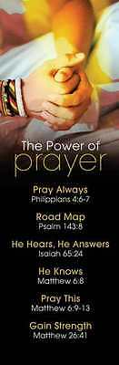 The Power Of Prayer - Pack of 25  Bookmarks 468447