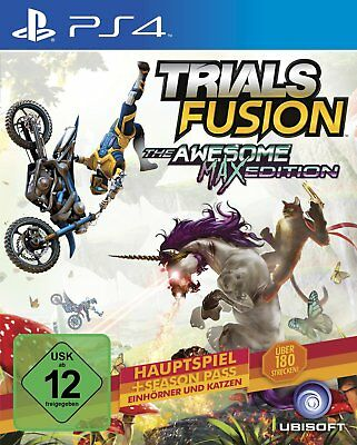 Trials Fusion- The Awesome Max Edition  PS4   Playstation 4  !!!!! NEU+OVP !!!!!