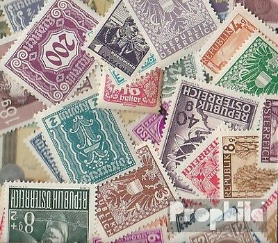 Austria 50 different stamps unmounted mint / never hinged until 1947