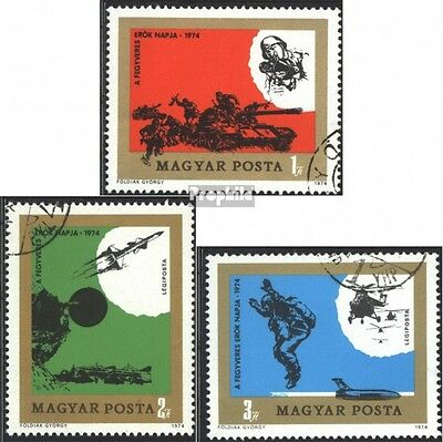 Hungary 2982A-2984A (complete issue) unmounted mint / never hinged 1974 Day the