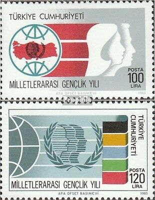Turkey 2718-2719 (complete issue) unmounted mint / never hinged 1985 Year the Yo