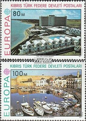 Turkish-Cyprus 41-42 (complete issue) unmounted mint / never hinged 1977 Europe