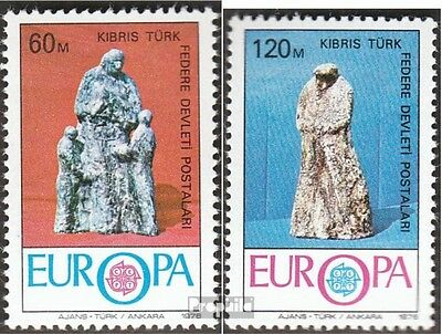 Turkish-Cyprus 27-28 (complete issue) unmounted mint / never hinged 1976 Europe