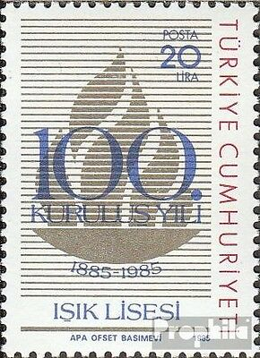 Turkey 2731 (complete issue) unmounted mint / never hinged 1985 Isik-Gymnasium