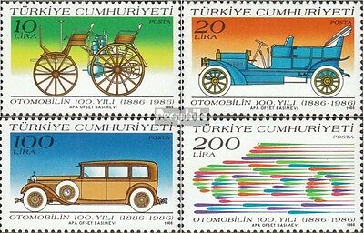 Turkey 2755-2758 (complete issue) unmounted mint / never hinged 1986 100 years A