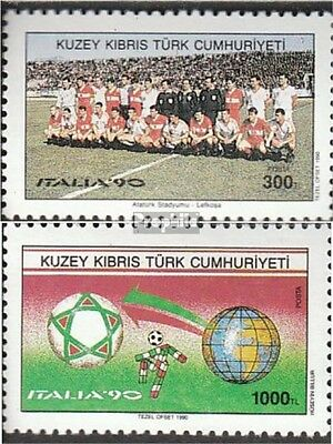 Turkish-Cyprus 279-280 (complete issue) unmounted mint / never hinged 1990 Footb
