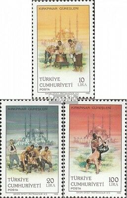 Turkey 2751-2753 (complete issue) unmounted mint / never hinged 1986 Ringwettkäm