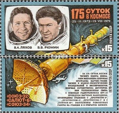 Soviet-Union 4889-4890 (complete issue) unmounted mint / never hinged 1979 Ljach