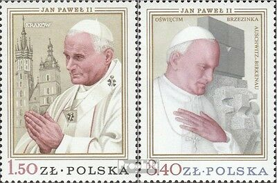 Poland 2629-2630 (complete issue) unmounted mint / never hinged 1979 Pope Johann
