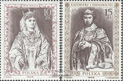Poland 3178-3179 (complete issue) unmounted mint / never hinged 1988 Polish Rule