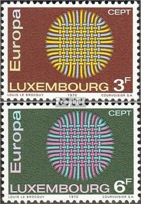 Luxembourg 807-808 (complete issue) unmounted mint / never hinged 1970 Europe