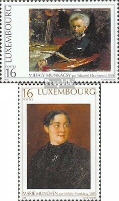Luxembourg 1396-1397 (complete issue) unmounted mint / never hinged 1996 Artist