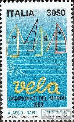 Italy 2075 (complete issue) unmounted mint / never hinged 1989 Sailing-WM