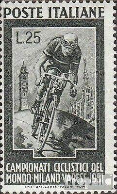 Italy 842 (complete issue) unmounted mint / never hinged 1951 cycling
