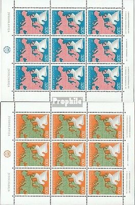 Yugoslavia 1585-1586 Sheetlet (complete issue) unmounted mint / never hinged 197