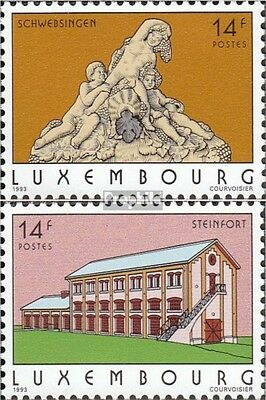 Luxembourg 1316-1317 (complete issue) unmounted mint / never hinged 1993 attract