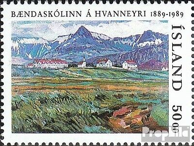 Iceland 706 (complete issue) unmounted mint / never hinged 1989 Agriculture