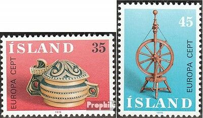 Iceland 514-515 (complete issue) unmounted mint / never hinged 1976 Europe