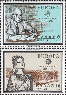 Greece 1411-1412 (complete issue) unmounted mint / never hinged 1980 Europe