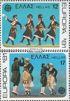 Greece 1445-1446 (complete issue) unmounted mint / never hinged 1981 Europe