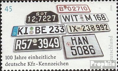FRD (FR.Germany) 2551 (complete issue) unmounted mint / never hinged 2006 Indica